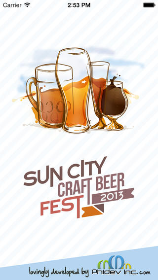 Sun City Beer Fest iPhone App